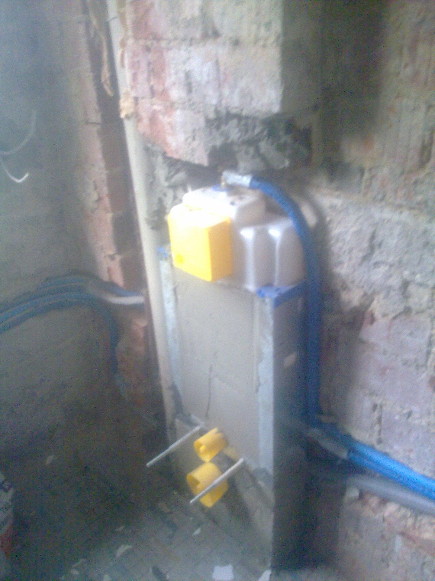 Unterputz Spülkasten Verkleiden wc gestell zum ausmauern