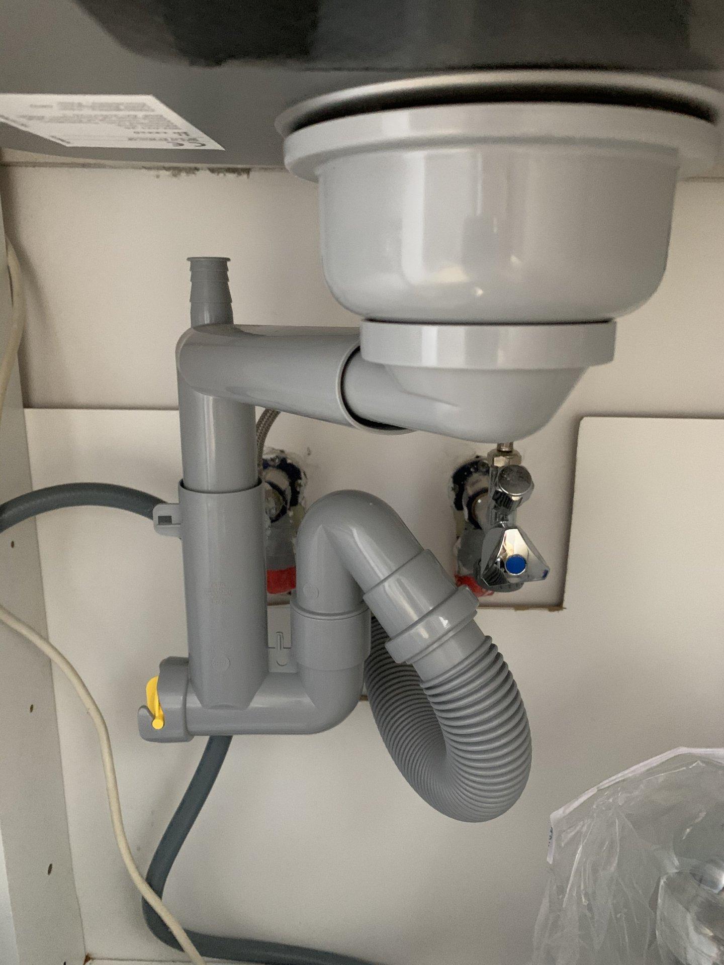 Spulmaschine Ablaufschlauch An Ikea Lillviken Siphon Anschliessen