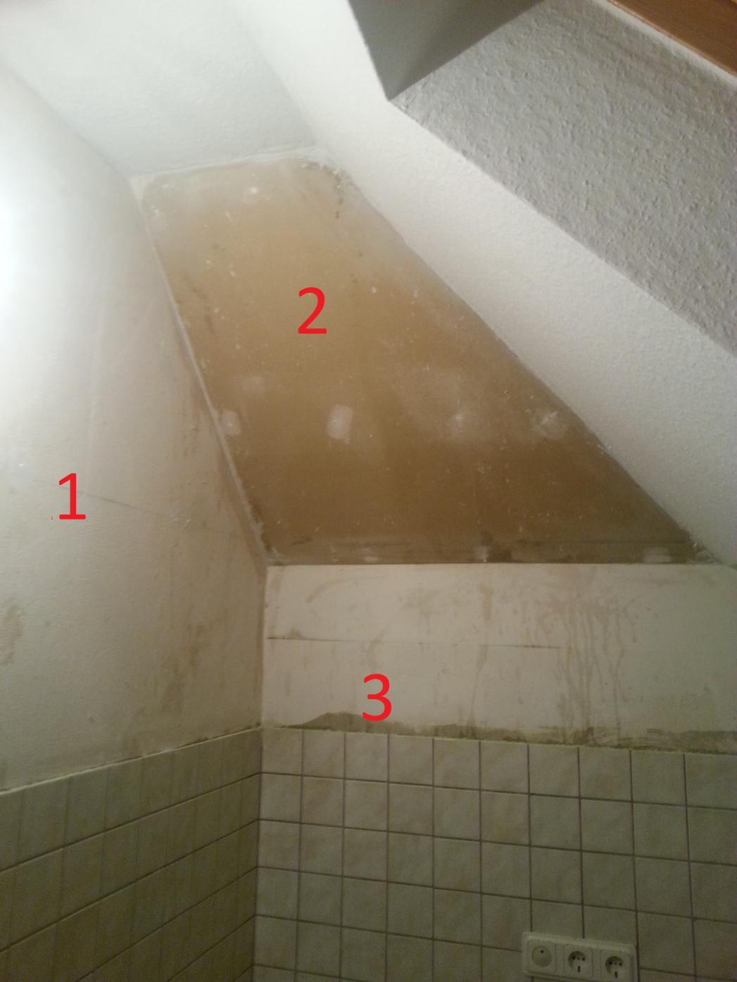 Hilfe beim tapezieren (ecke mit anschließender dachschräge   ...