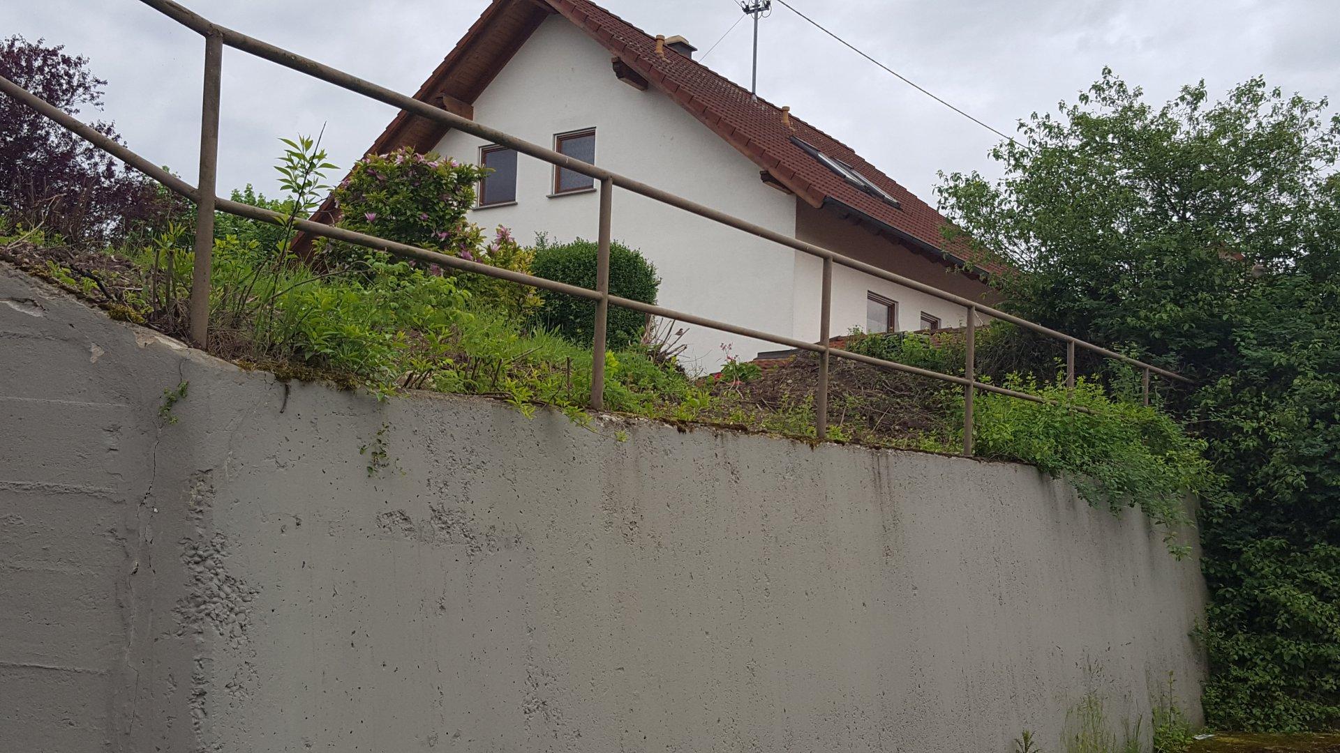 Gallery Of Sichtschutz Mauer Aus Pflanzsteinen