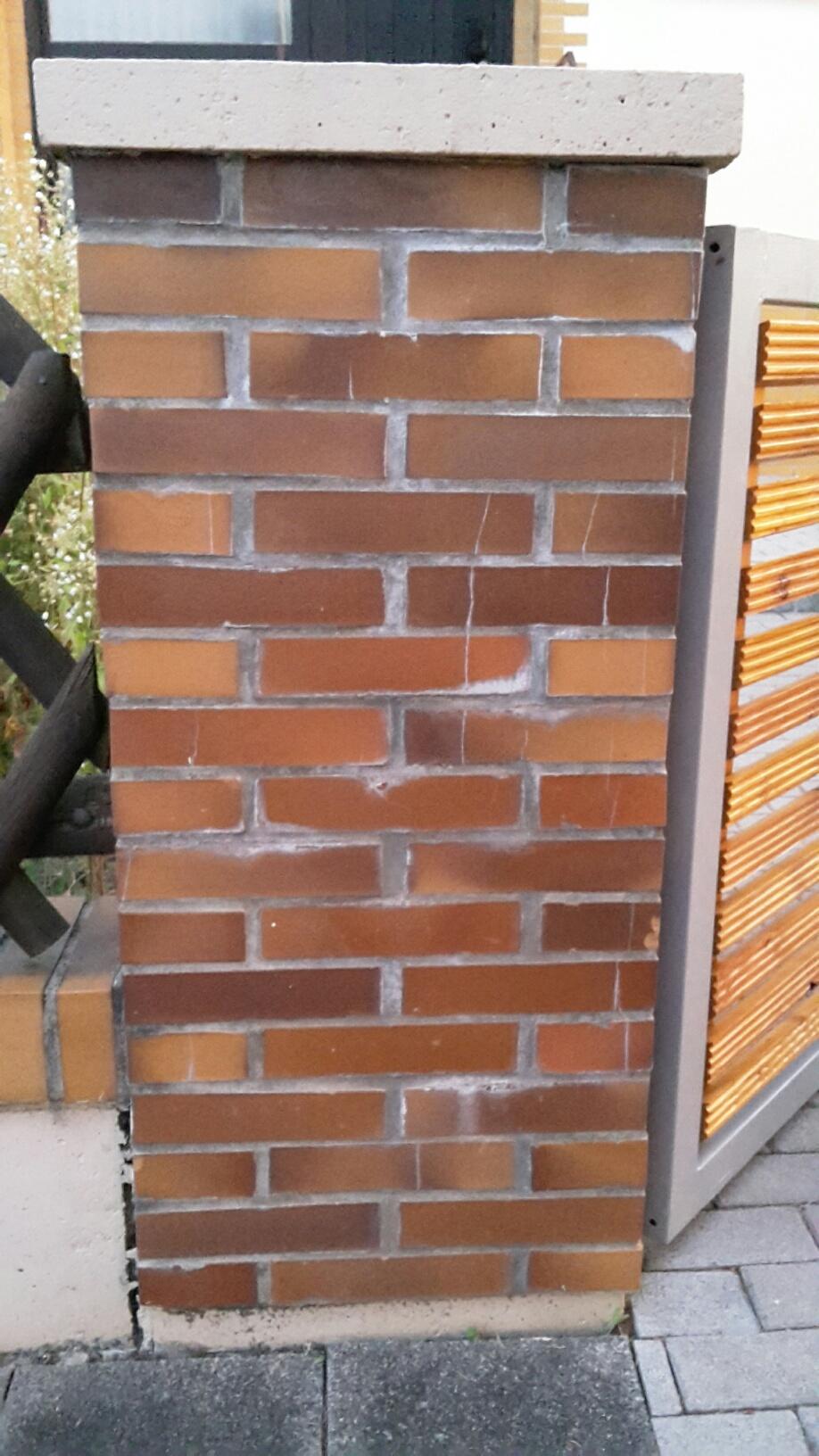 Betonmauerchen Streichen