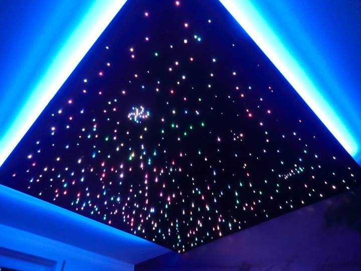 Sternenhimmel Glasfaser Selber Bauen sternenhimmel