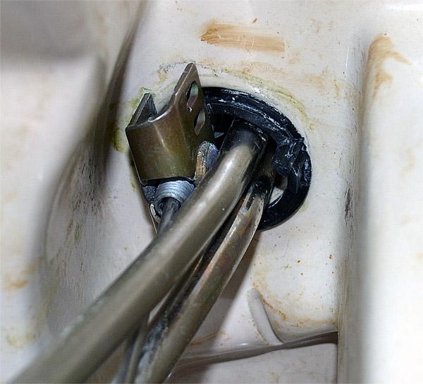 Lose Waschbeckenarmatur: Wie befestigen?