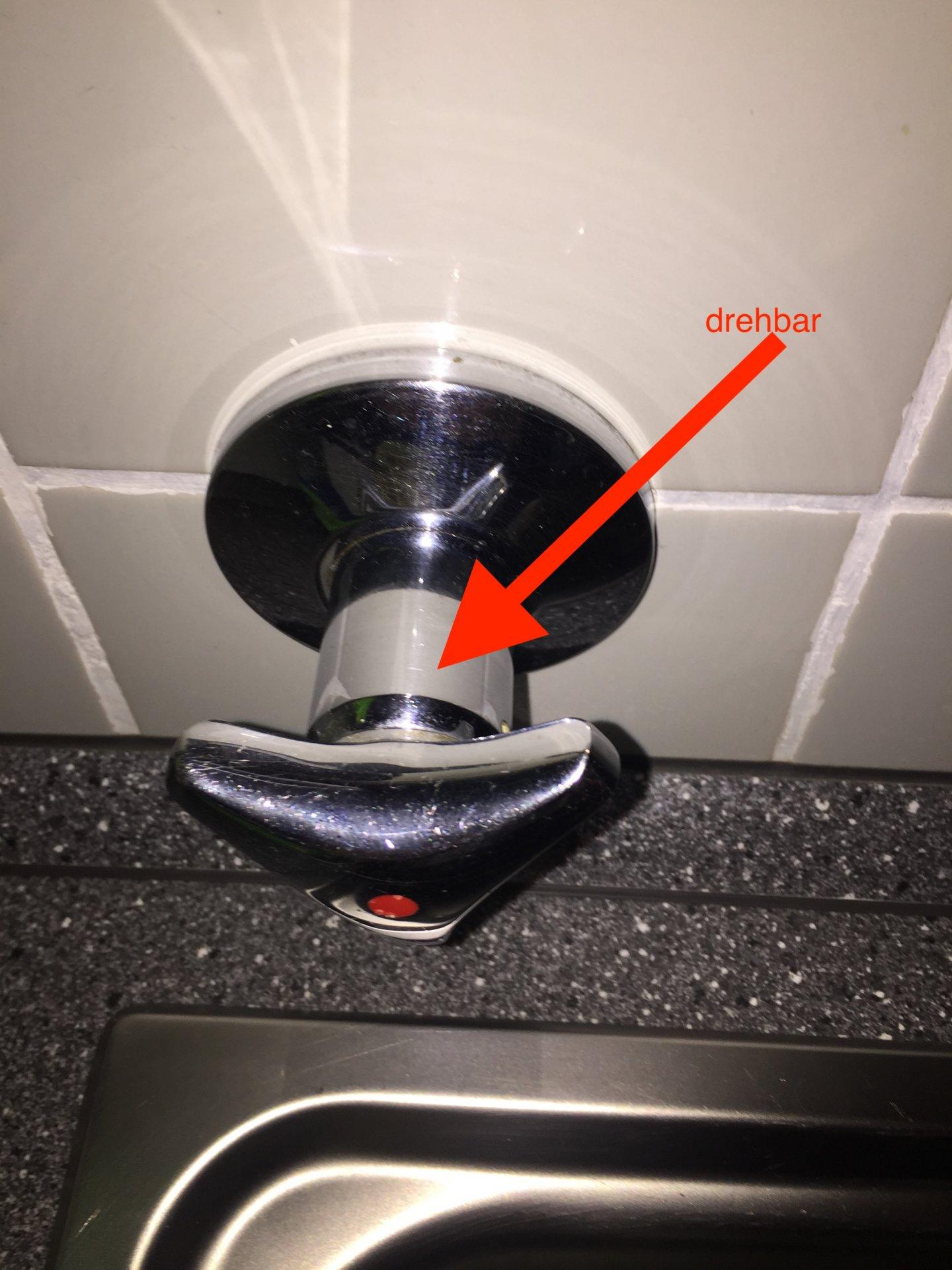 Drehgriff abschrauben wasserhahn Wasserhahn