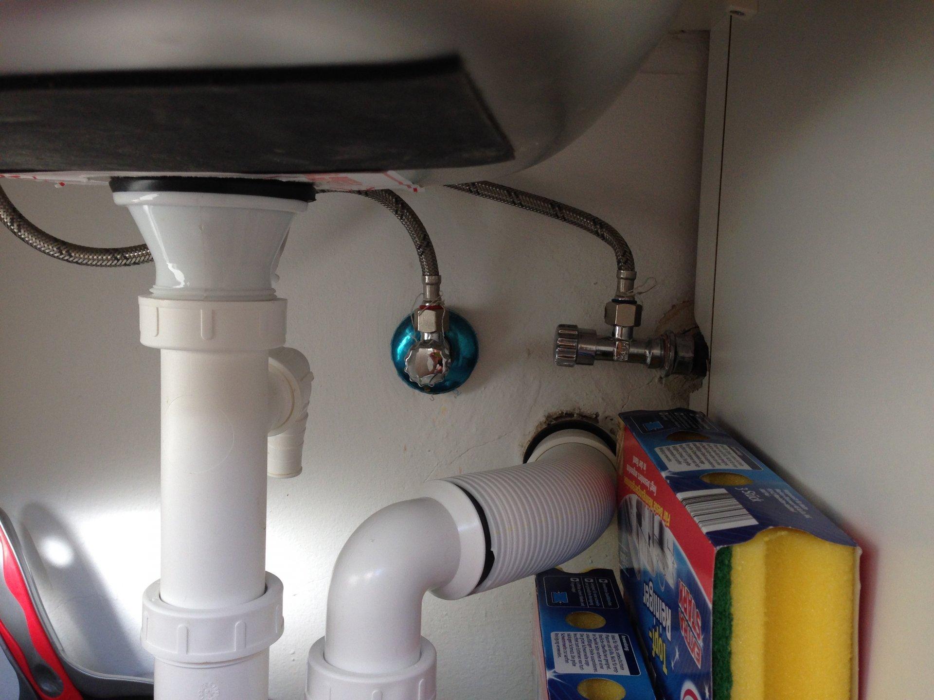 Hervorragend Waschmaschinenanschluss - Was brauche ich? DX23