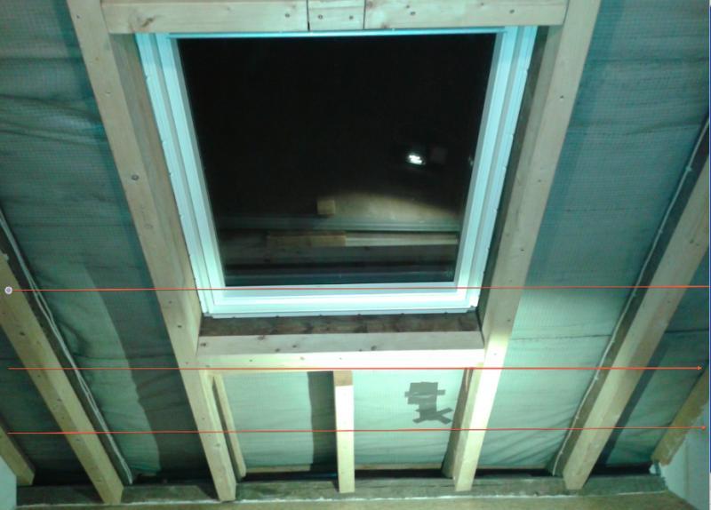 Favorit Dachschräge mit Dachlatten beplanken! Welche Abstand Rigipsplatten LH36