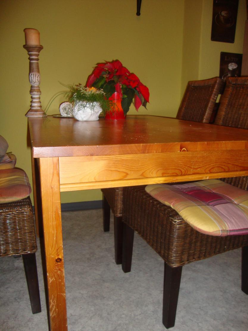 Tisch neu lackieren