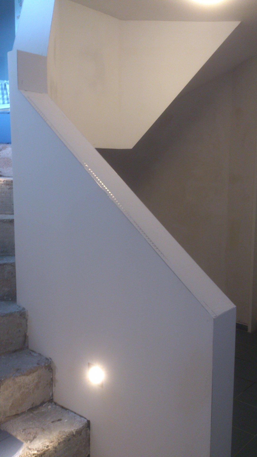 Treppengeländer Verkleiden treppenhausgeländer brüstung in trockenbauweise seite 3