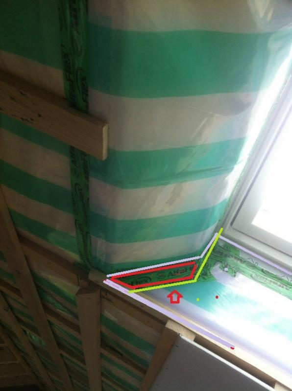 Bekannt Dachfenster Trockenbau Holzverkleidung HG31