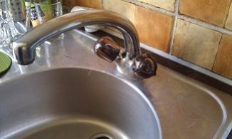 Merkwürdige Warmwasserinstallation