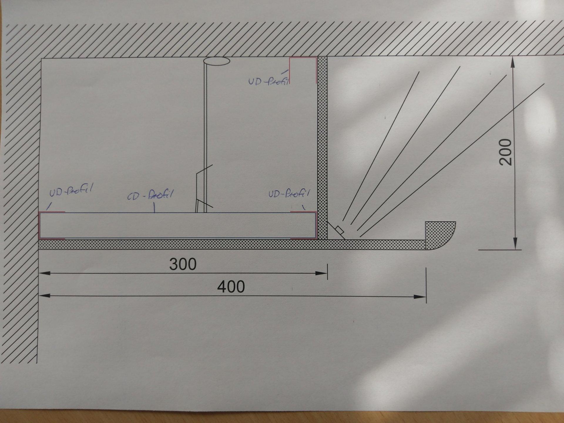 Deckenkoffer Indirekte Beleuchtung