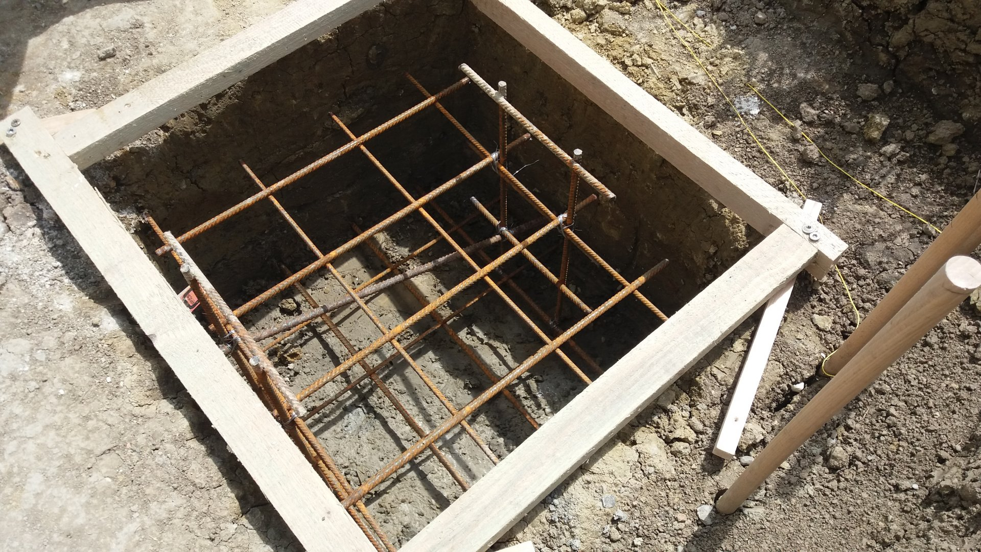 Fundament Bewahrung Rost