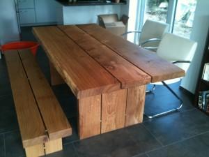 Holztisch massiv selber bauen  Massiver Esstisch Verbidungsstück?!
