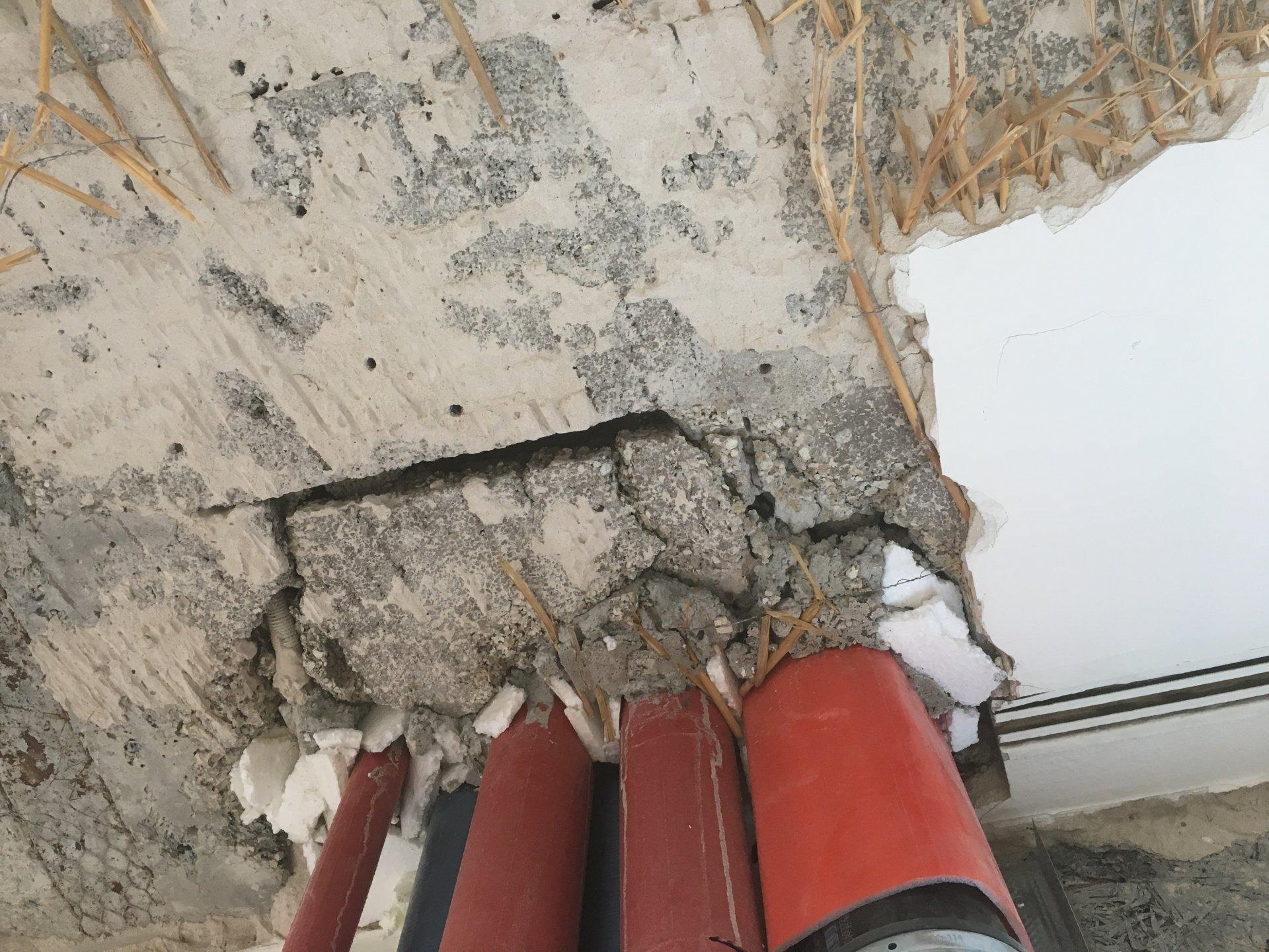 Etwas Neues genug Was zuerst? Wand verputzen oder Decke abhängen? #WG_87