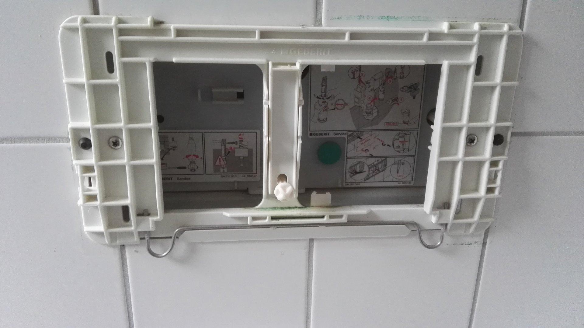 Hervorragend Hilfe: Toilettenspülung läuft stark nach! LR69