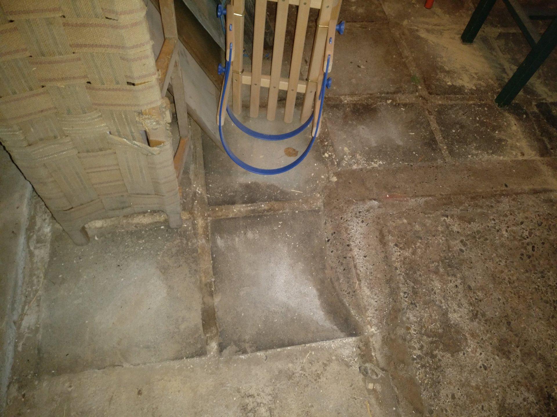 Fußboden Im Schuppen ~ Boden in scheune schuppen begradigen