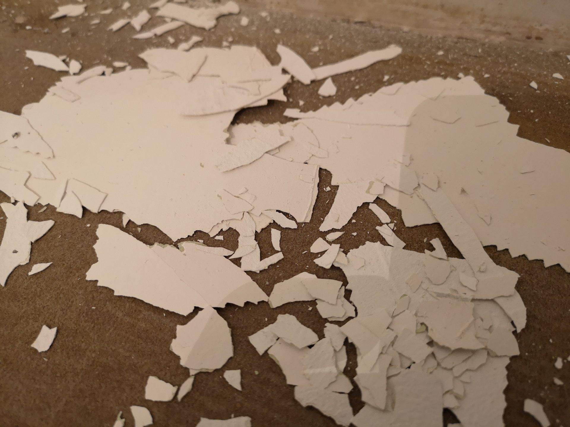 Gestrichene Wand Tapezieren und weiteres