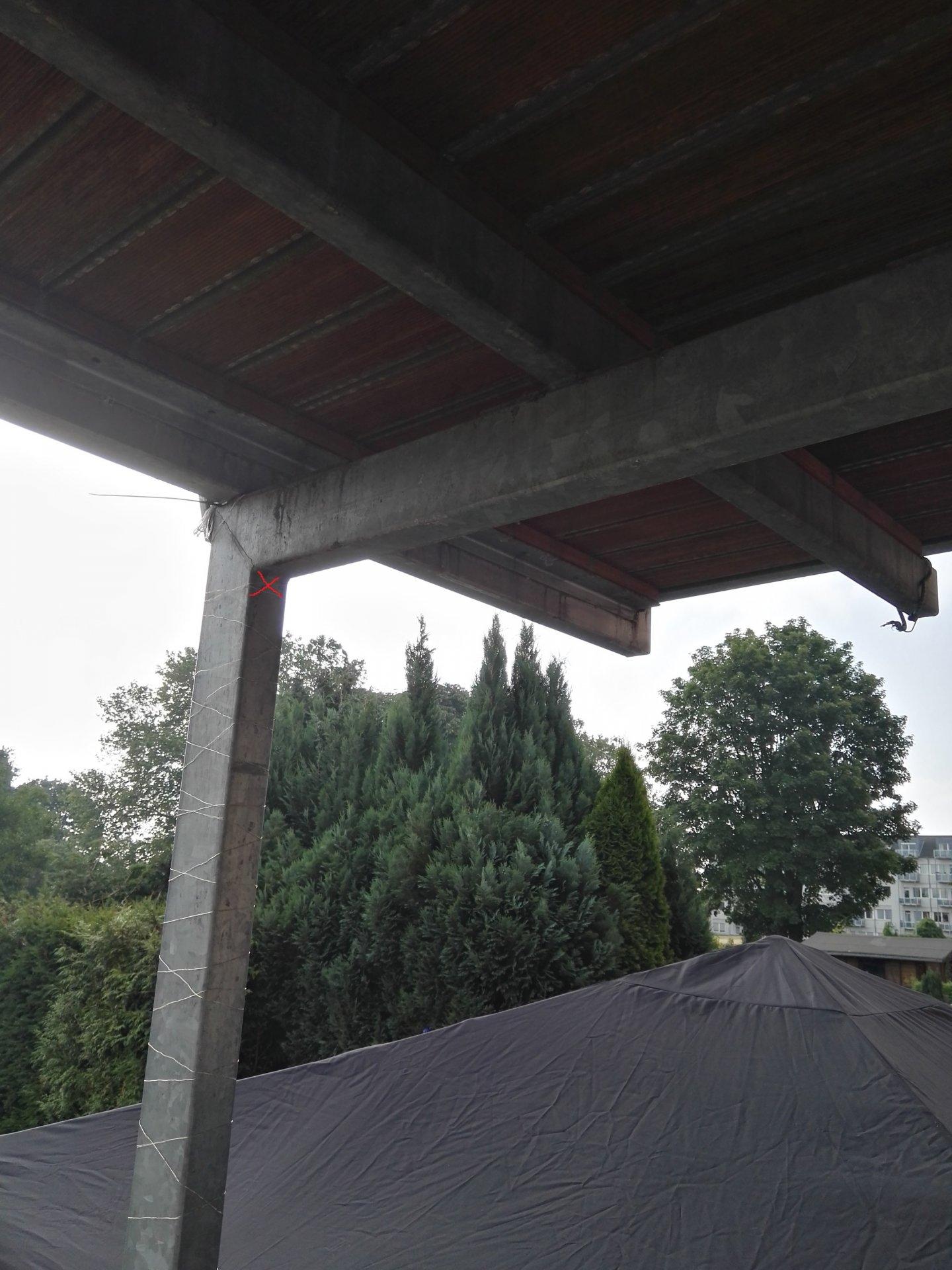 Balken An Balkon Ohne Bohren Befestigen