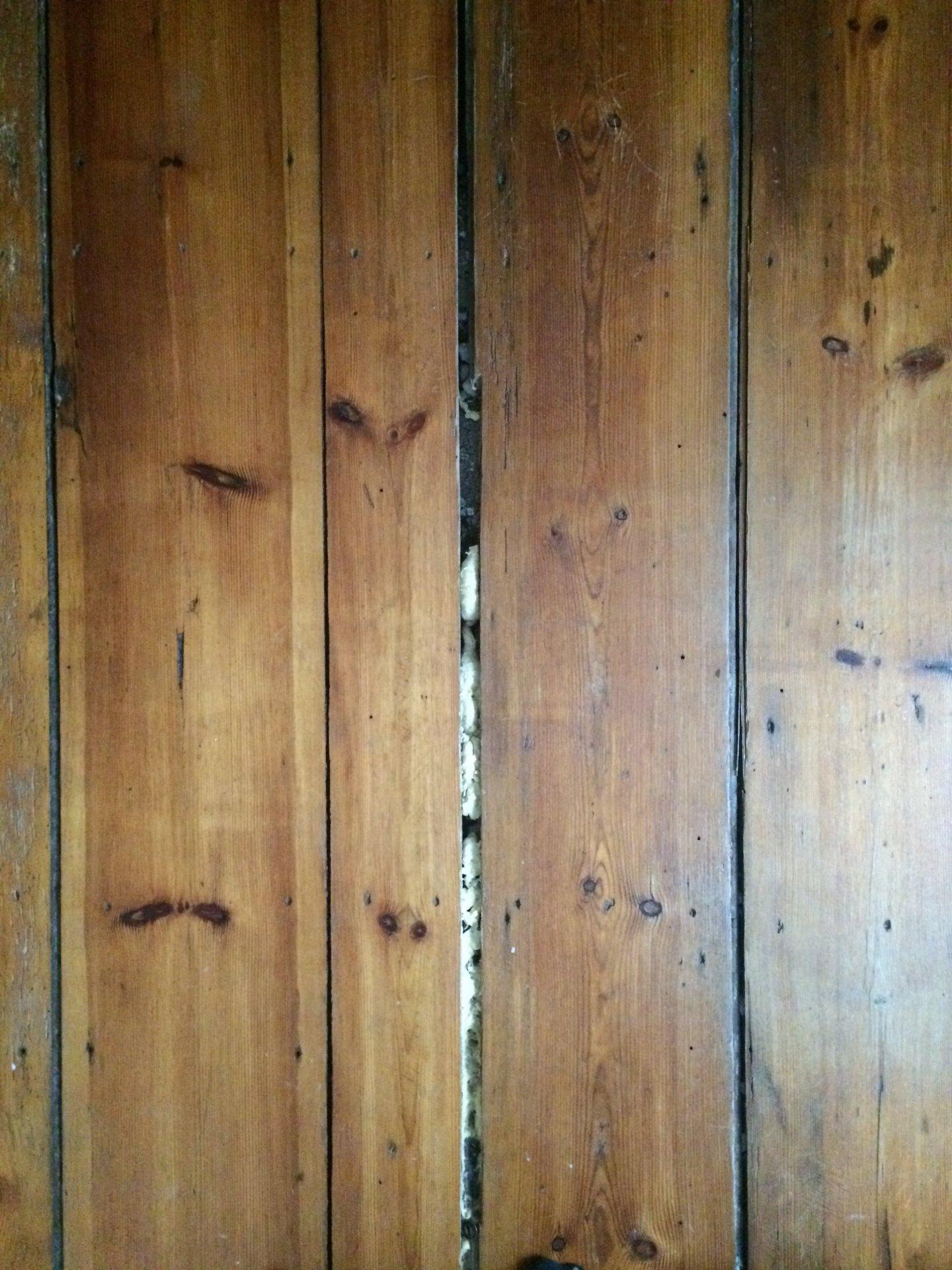 Gut bekannt Hilfe: Spalten zwischen Holzdielen füllen OL32