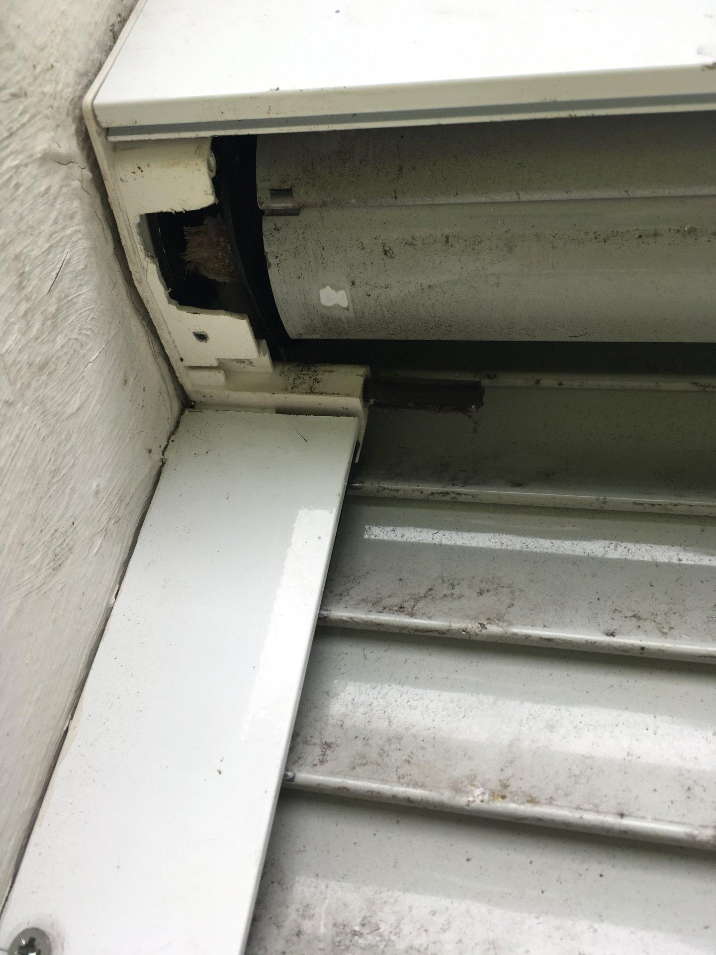 Gut gemocht Rolladenkasten außen öffnen ID25