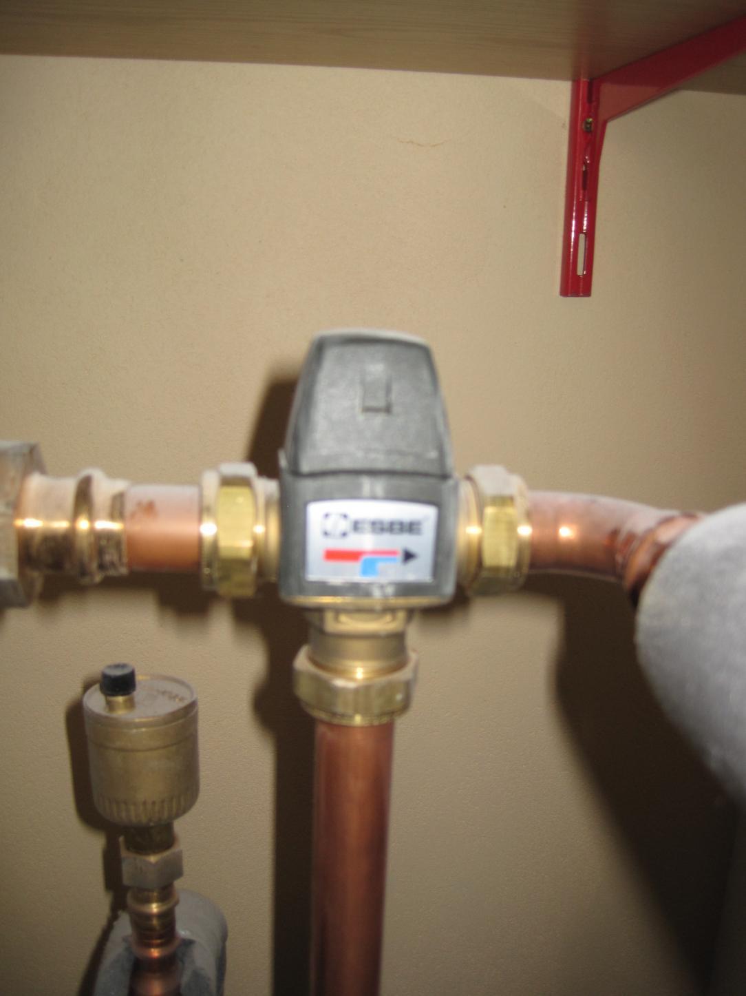 Berühmt Druck bei Warmwasser geringer als bei Kaltwasser DM57
