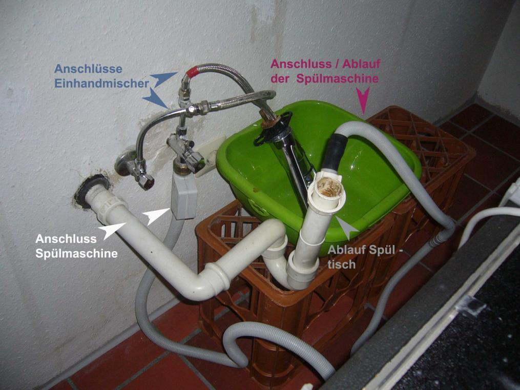 Wasserhahn kuche mit anschluss fur spulmaschine gv31 hitoiro for Spüle mit spülmaschine