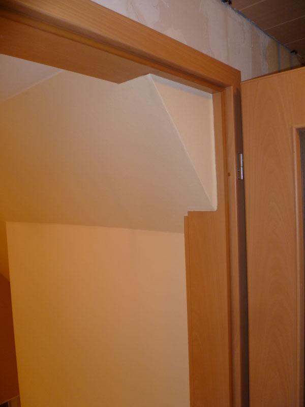 Fabulous Angepasste Zimmertür Dachschräge WC98