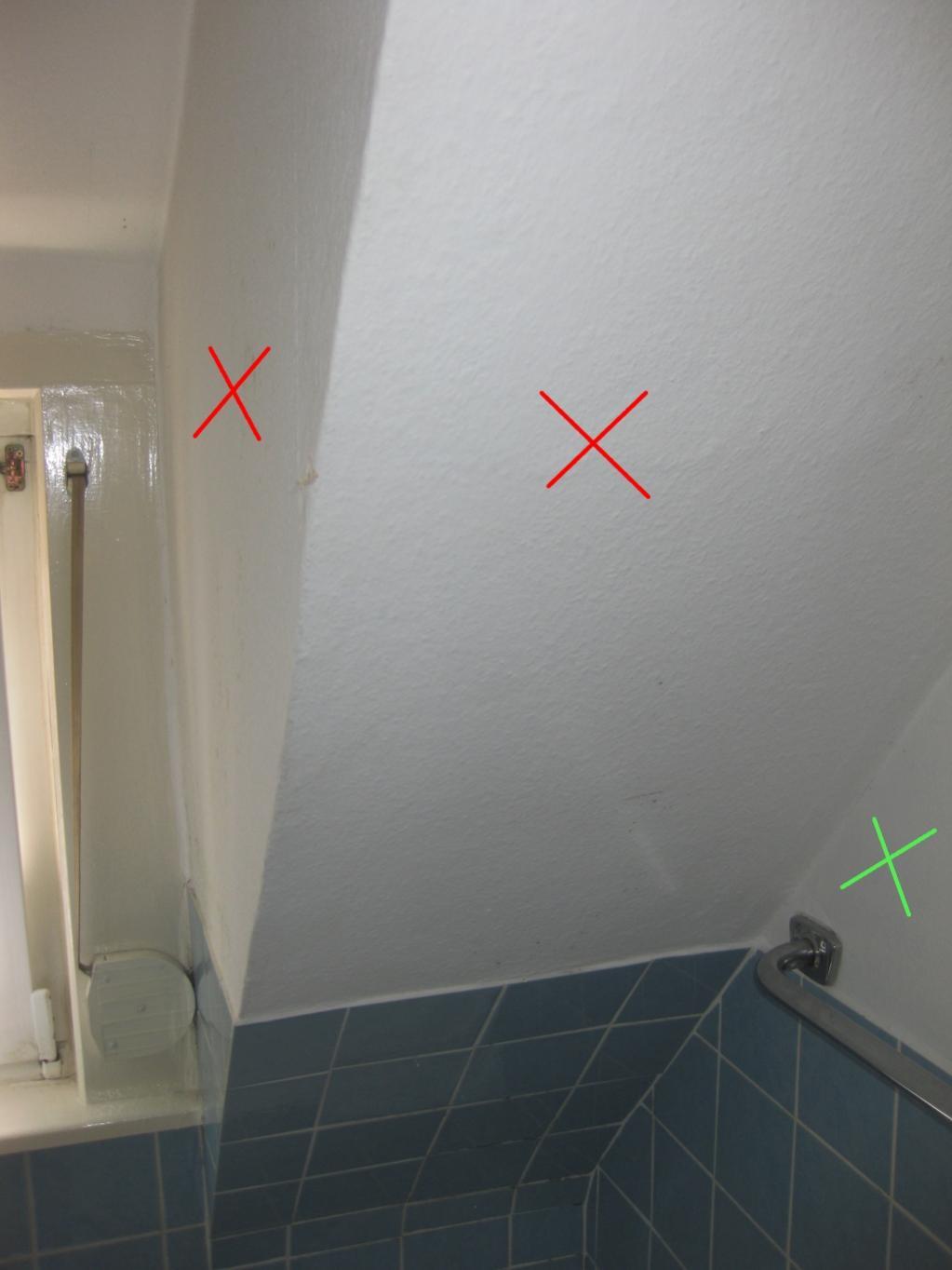 Badezimmer   Schimmel an Wand   dasheimwerkerforum.de