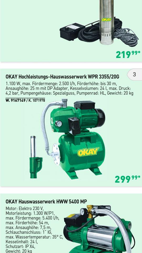 Bekannt Hauswasserwerk FY72