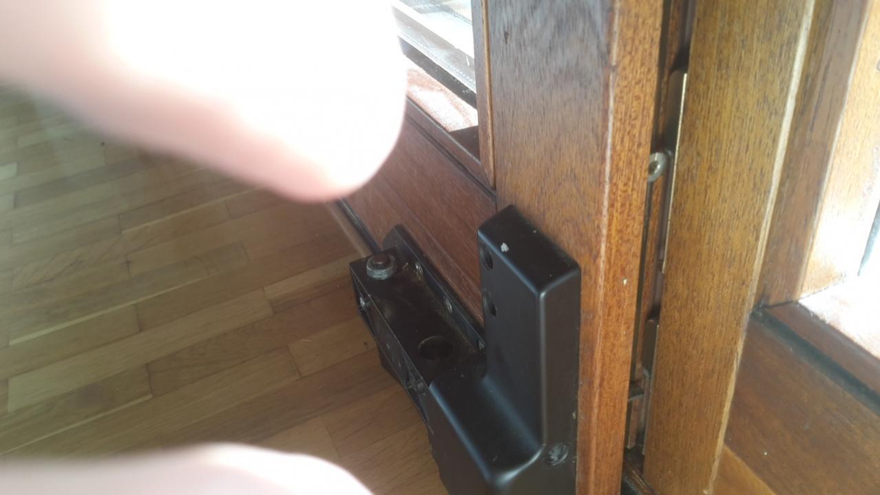 Favorit Terrassentüre (Parallel-Schiebe-Kipp-Tür von GU) schließt nicht SX38