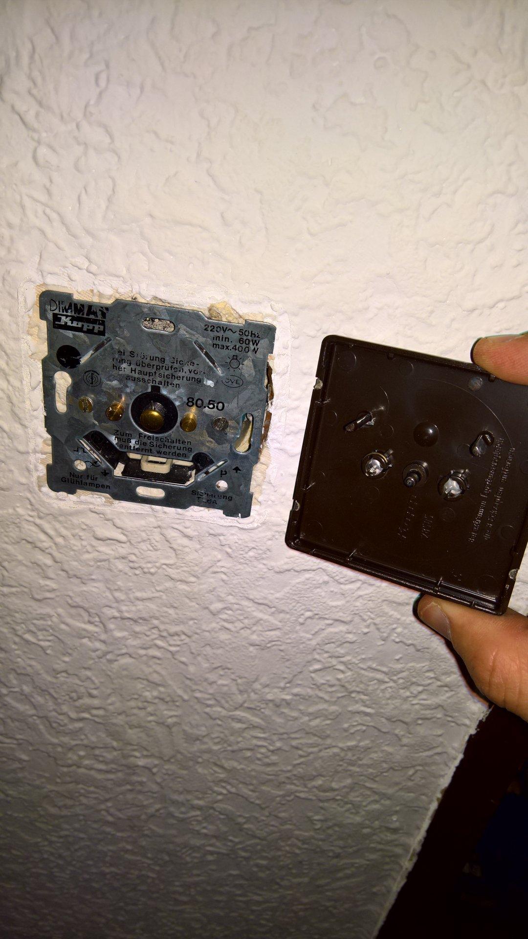 Großzügig Wie Man Einen Inline Lichtschalter Installiert ...