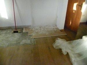 Holzfußboden Erneuern ~ Dielen teilweise durch verlegeplatten ersetzen?!