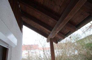 Dachbalken Verkleiden dachbalken morsch