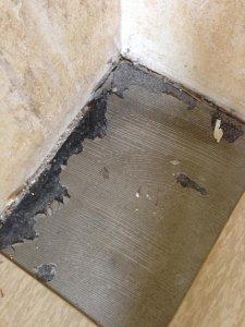 Vinyl fliesen auf schwarzer bodenplatte - Pvc fliesen asbest ...