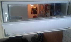 Alten Bosch Kühlschrank Umrüsten : Einbaukühlschrank: von schlepptür auf festtür