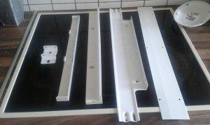 Alten Bosch Kühlschrank Umrüsten : Einbaukühlschrank von schlepptür auf festtür