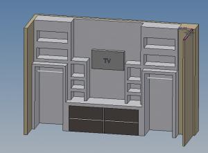 Wandschrank mit nischen bauen - Wandschrank bauen ...