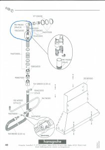 hansgrohe secuflex wannenrand armatur brauseschlauch wechseln. Black Bedroom Furniture Sets. Home Design Ideas